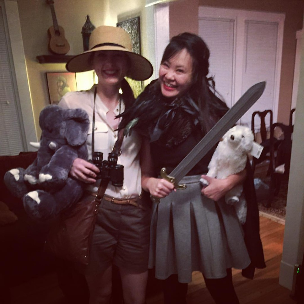 Safari and Jon Snow Halloween 2015