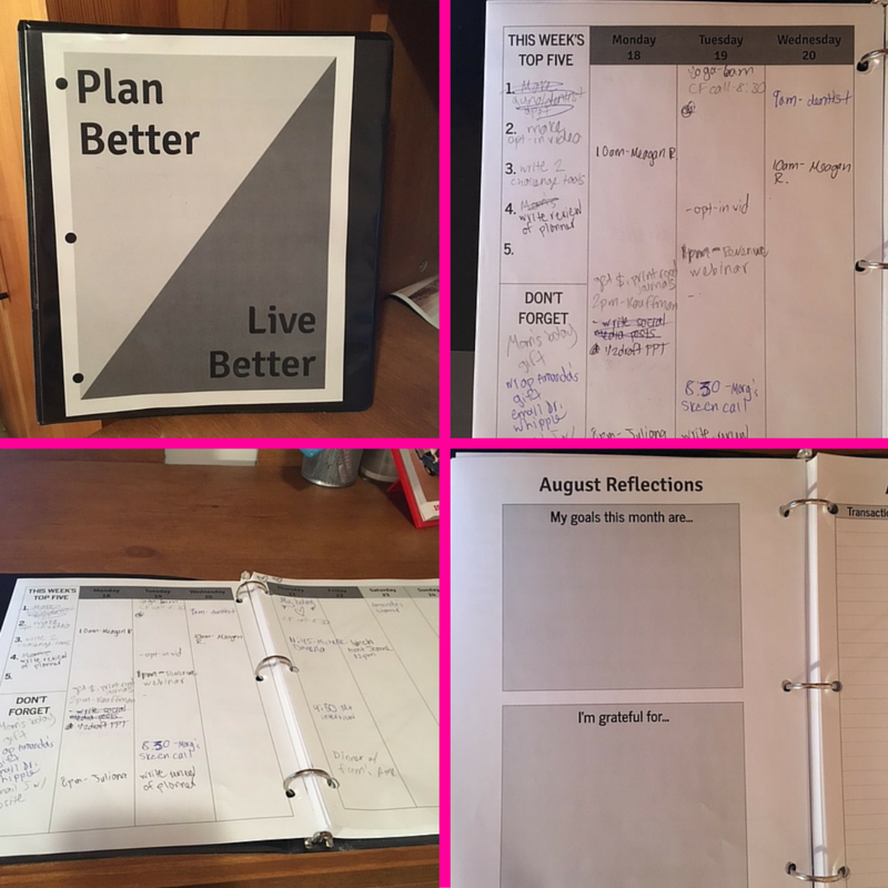 Plan Better Live Better collage